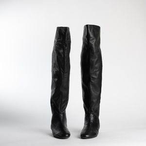 Dolce Vita Over The Knee Leather Boots